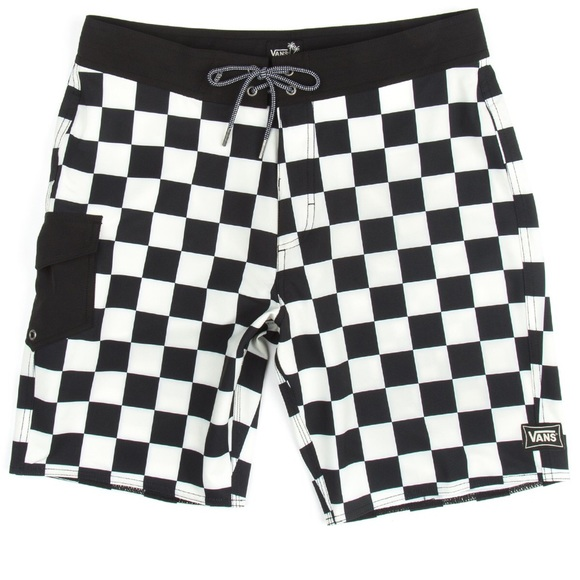 05de022004 Vans Swim | Mens Checkerboard Boardshorts | Poshmark